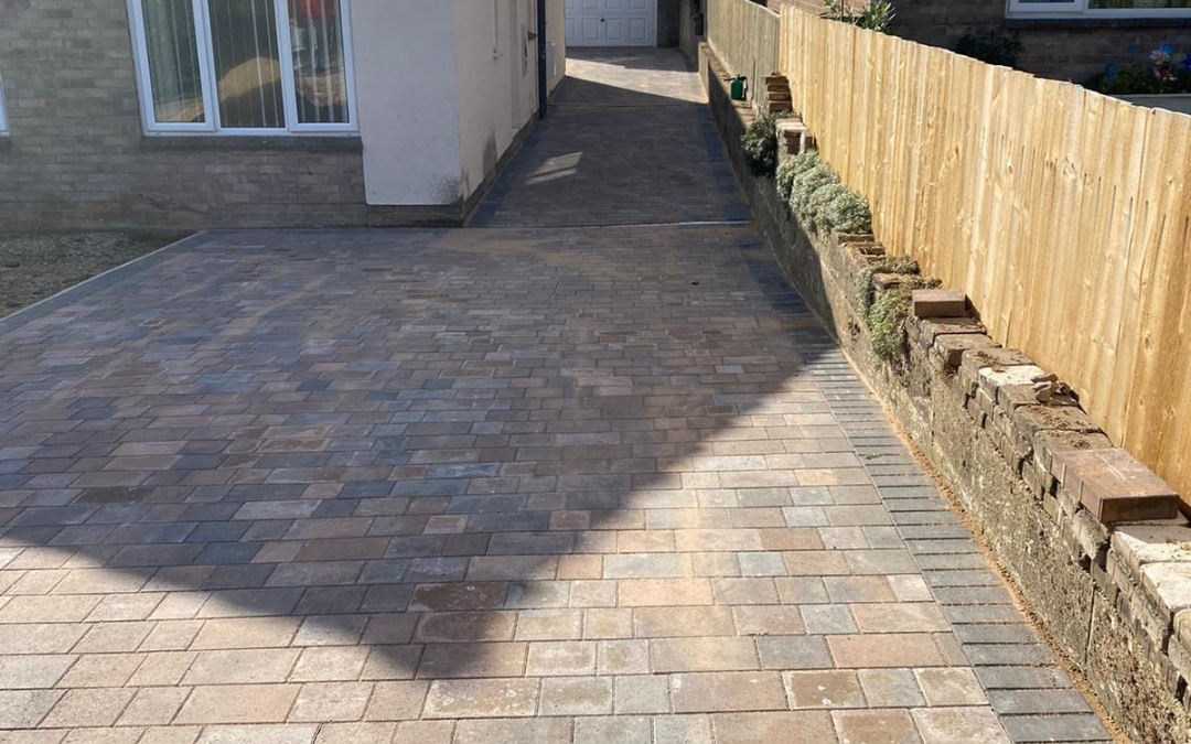 Block paving driveway in Plymouth
